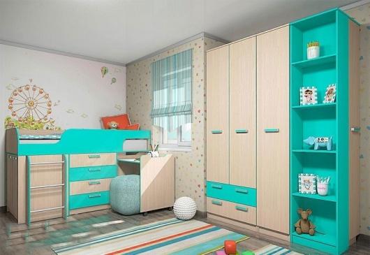 Детская комната (комплект) Лада