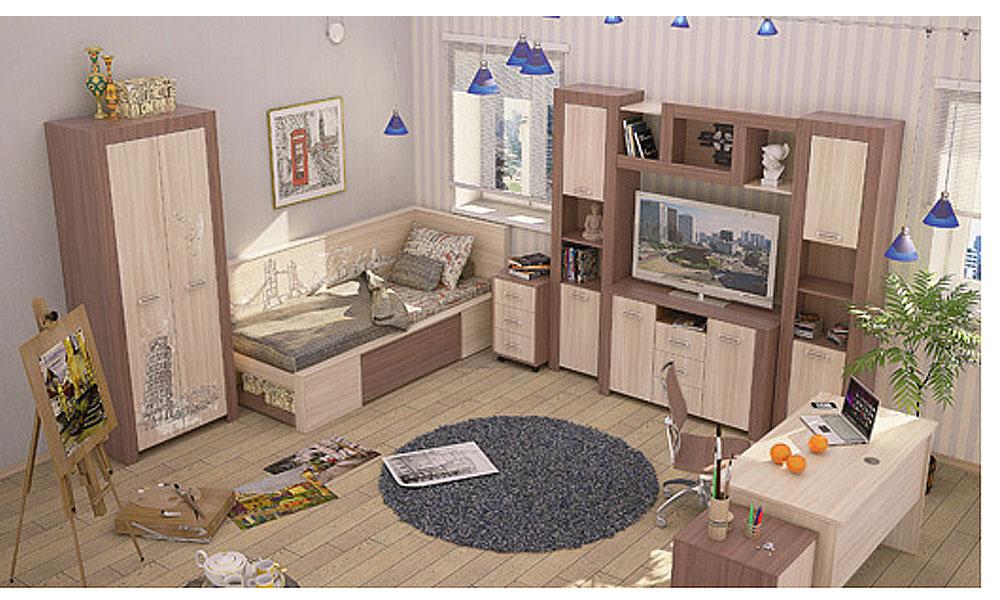 Детская комната (комплект) Лион