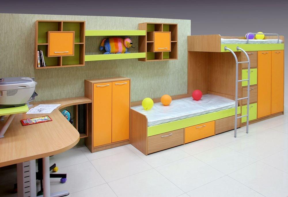 Детская комната (комплект) Санта
