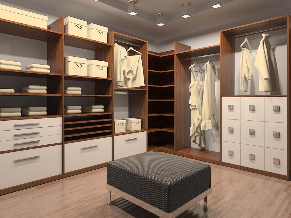 Гардеробная (гардеробная комната) Даймонд