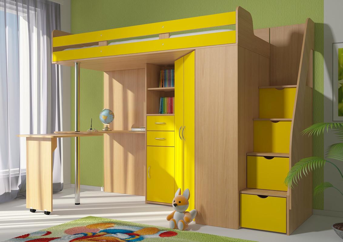 Детская комната (комплект) Колобок