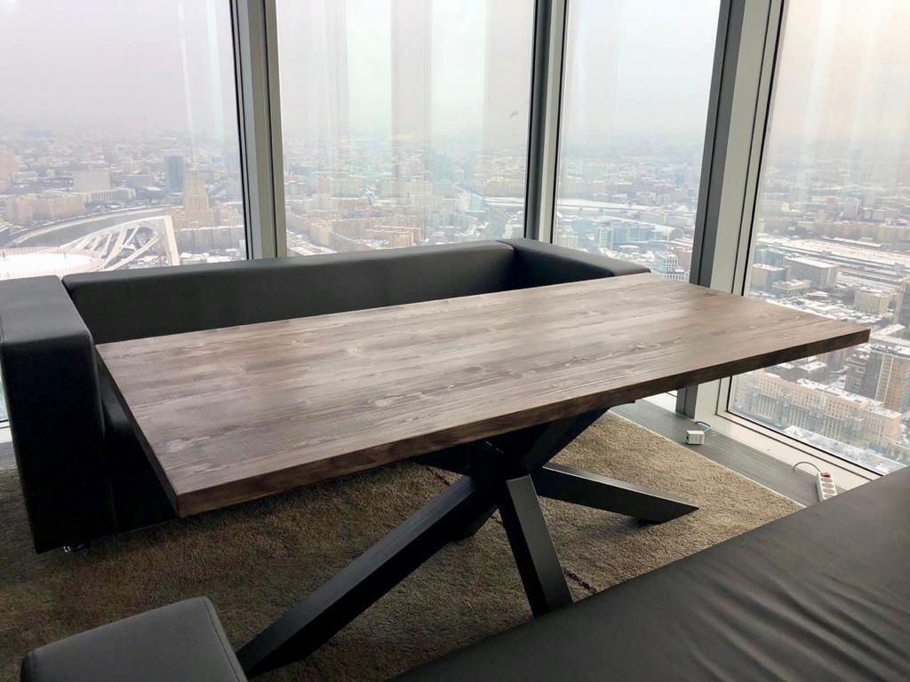 Стол обеденный Лофт1