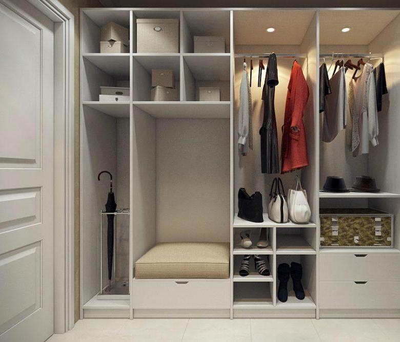 Гардеробная (гардеробная комната) Кенда