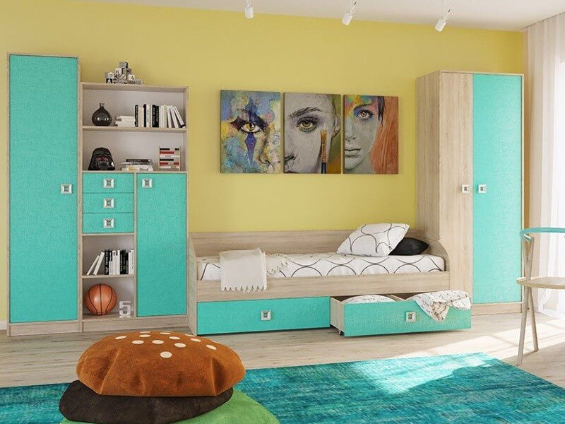 Детская комната (комплект) Бруно