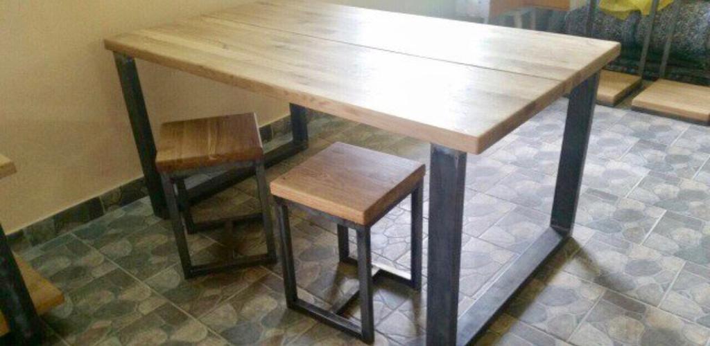 Стол обеденный Лофт5