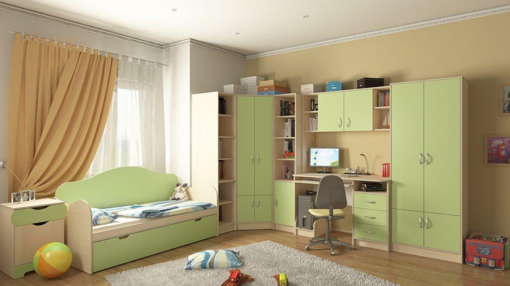 Детская комната (комплект) Мишка