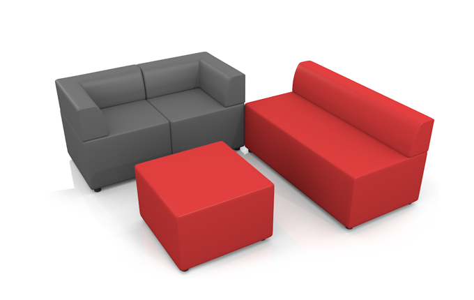 Кресло Оптима двухместный модуль
