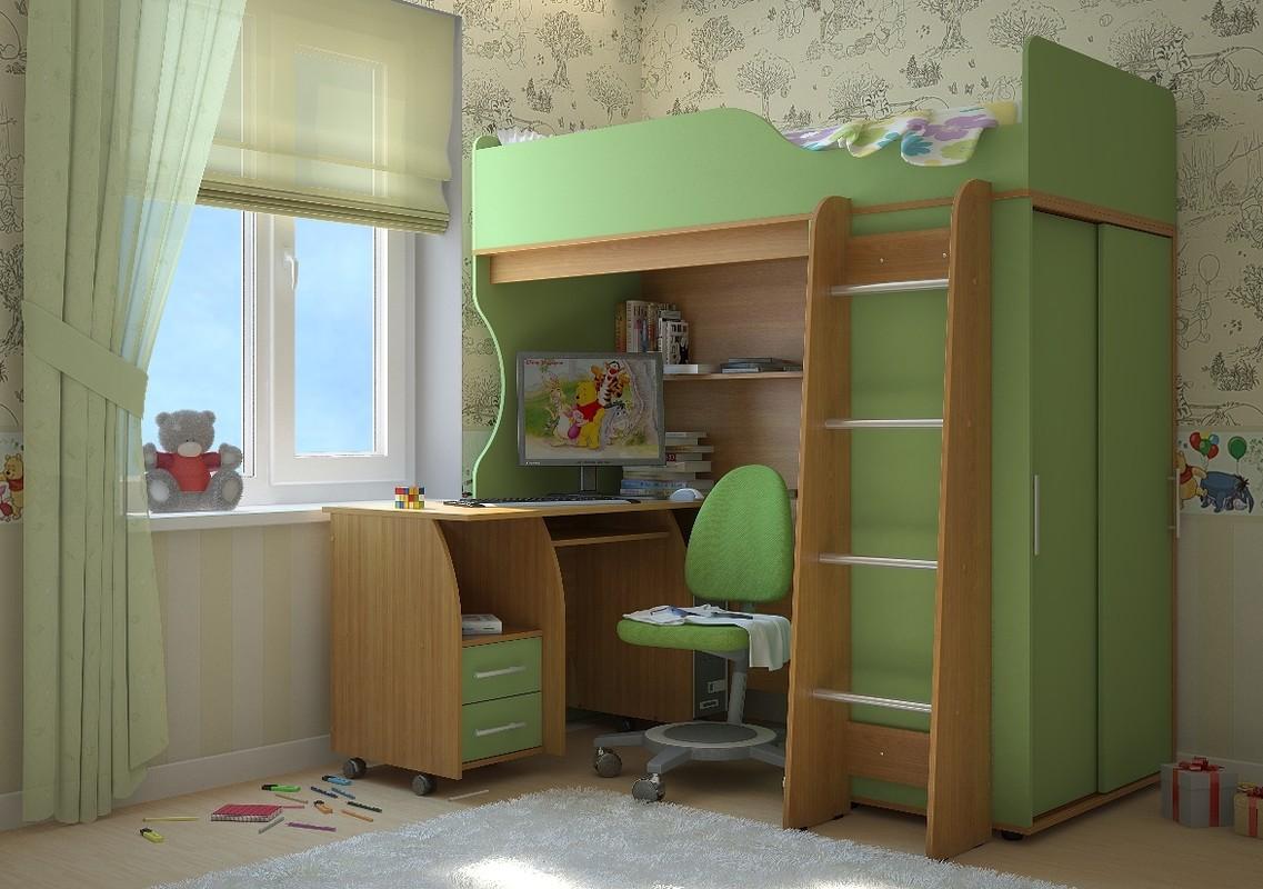 Детская комната (комплект) Мишутка